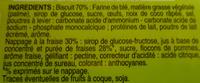 12 Tartelettes à la fraise - Ingrédients