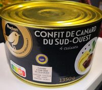 Confit De Canard du sud-ouest 4 cuisses - Prodotto - fr