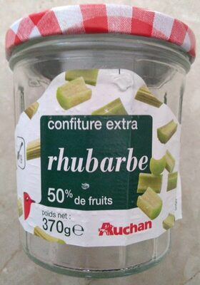 Confiture extra rhubarbe (50% de fruits) - Product - fr