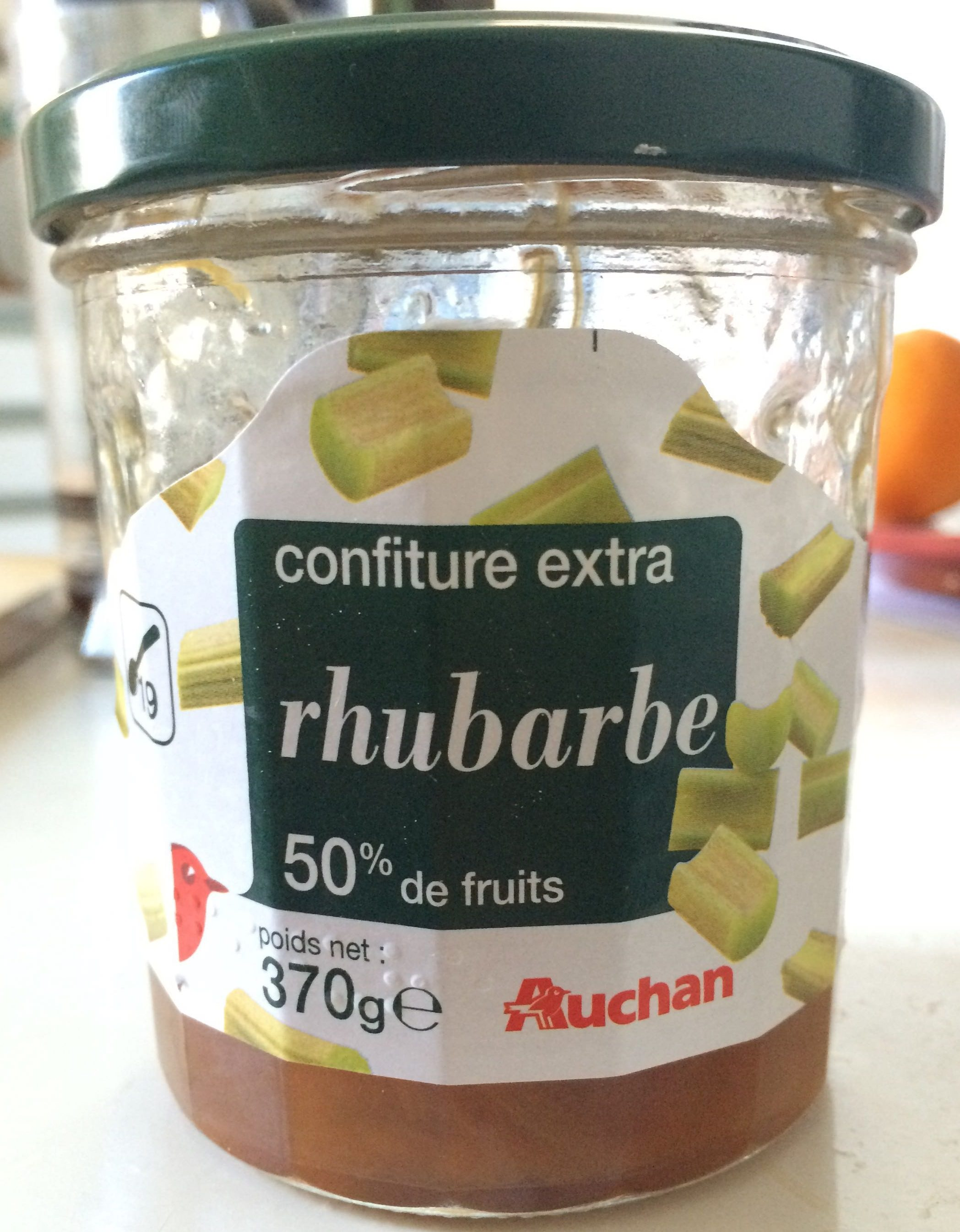 Confiture extra rhubarbe (50% de fruits) - Product