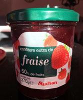 confiture extra de fraise - Product