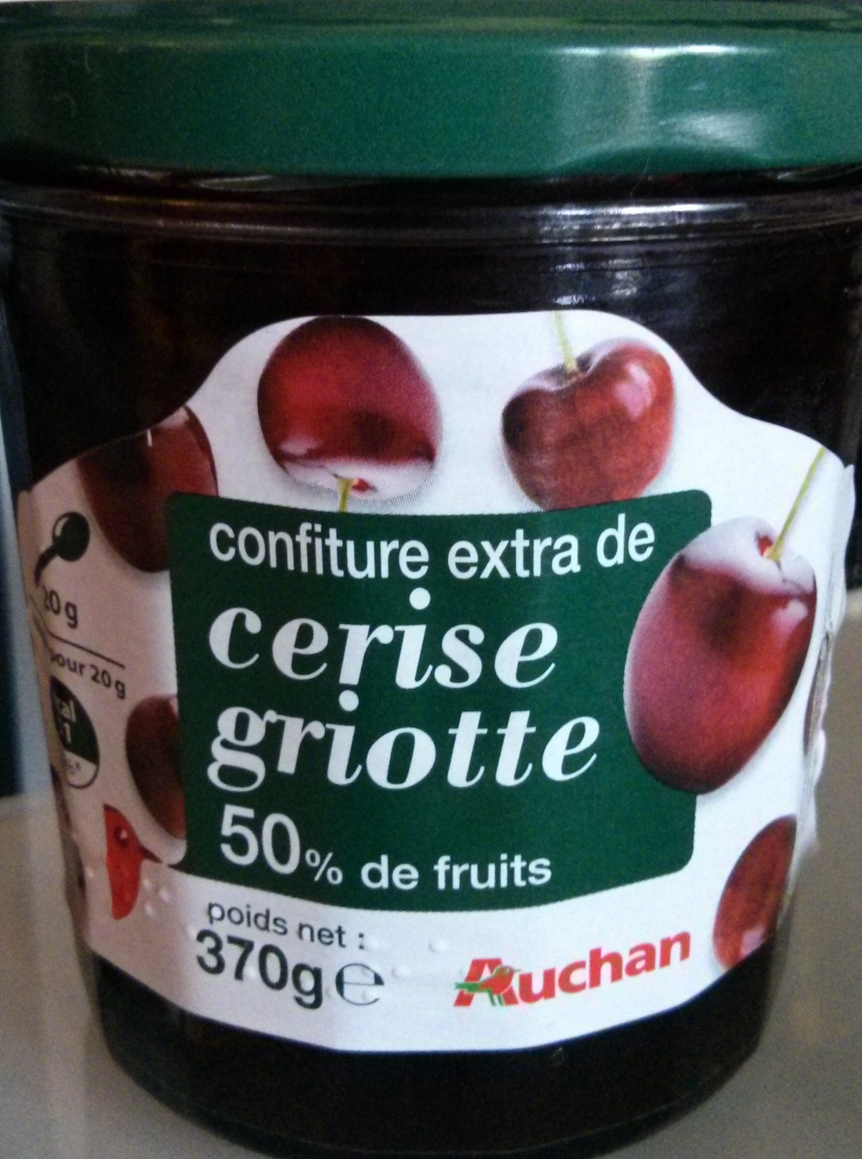 Confiture extra de cerise griotte - Produit - fr