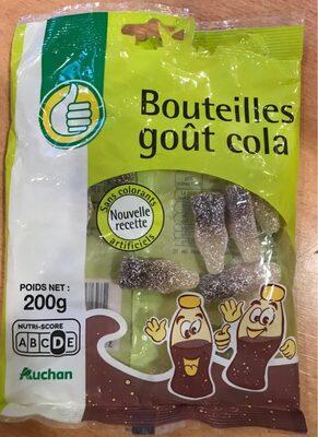 Bouteilles goût cola 200g - Product - fr