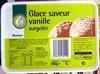 Glace saveur vanille surgelée - Product
