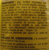 Saucisses aux lentilles - Ingrédients