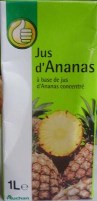Jus d'Ananas à base de jus d'Ananas concentré - Produit - fr