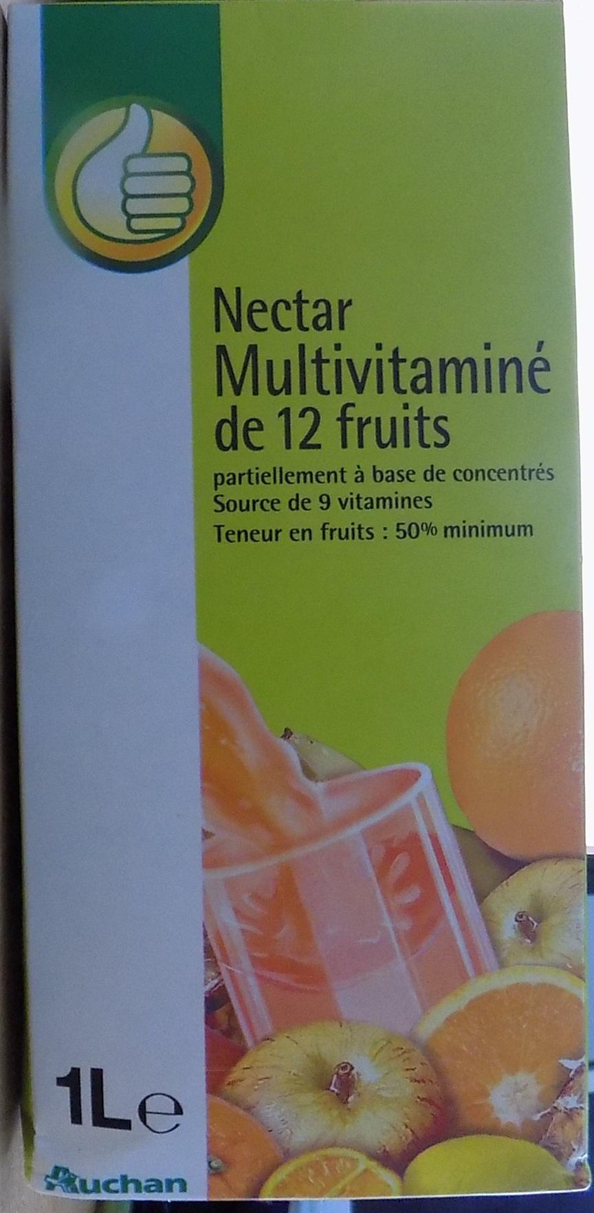Nectar multivitaminé de 12 fruits - Product