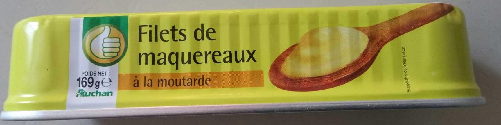 Filets de maquereaux (à la moutarde) - Produit - fr