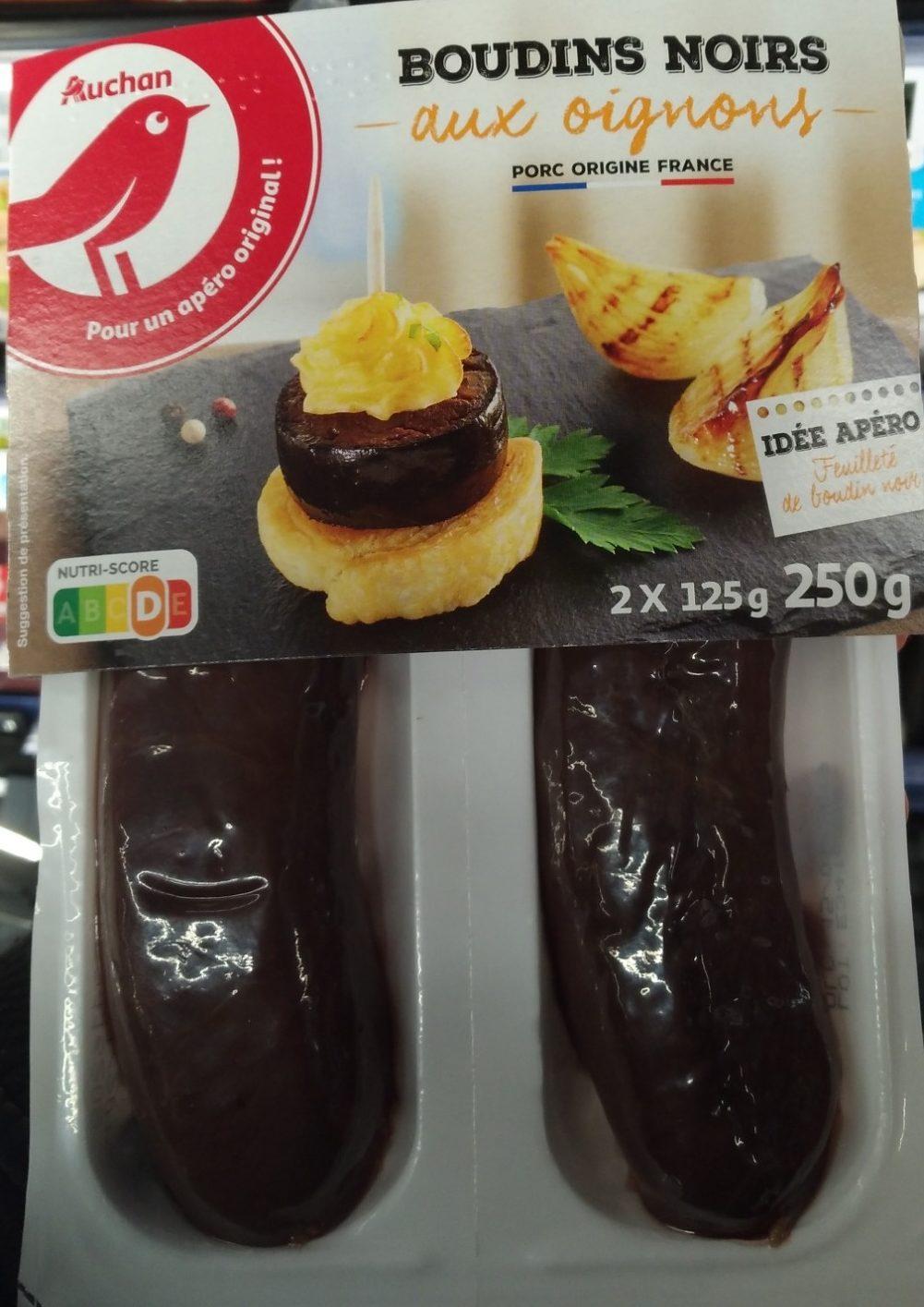 Boudins noirs aux oignons - Produit - fr