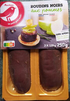 Boudin noir aux pommes 2x125 g - Produit - fr