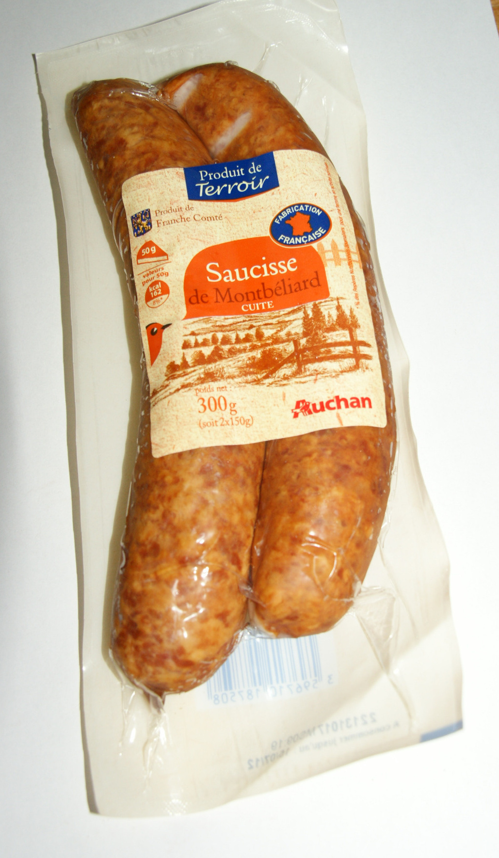 Saucisses de Montbéliard - Produit - fr