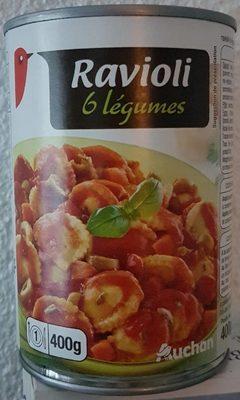 Ravioli 6 légumes - Produit - fr