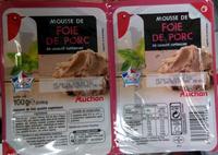 Mousse de foie de porc - Product - fr