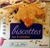 Biscottes aux six céréales - Product
