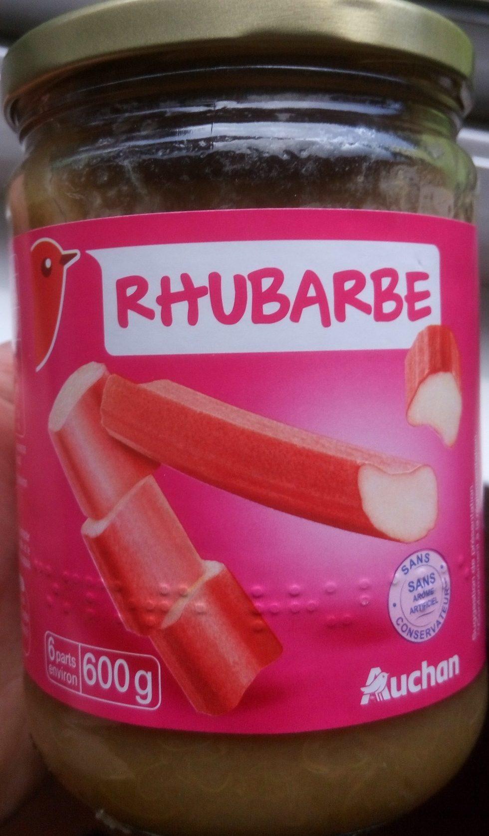 Compote de Rhubarbe - Producto