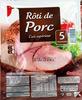 Rôti de Porc (Cuit supérieur) 5 Tranches - Product