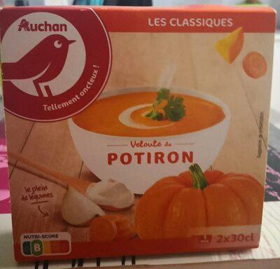 Velouté de Potiron 2x30cl - Product - fr