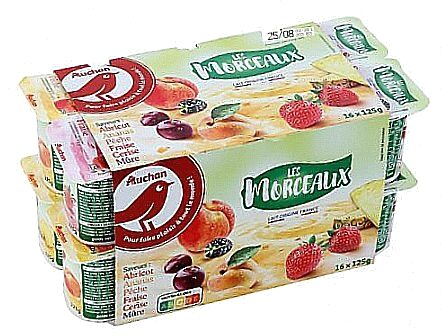 Yaourt au lait entier brassé sucré aux fruits - Product