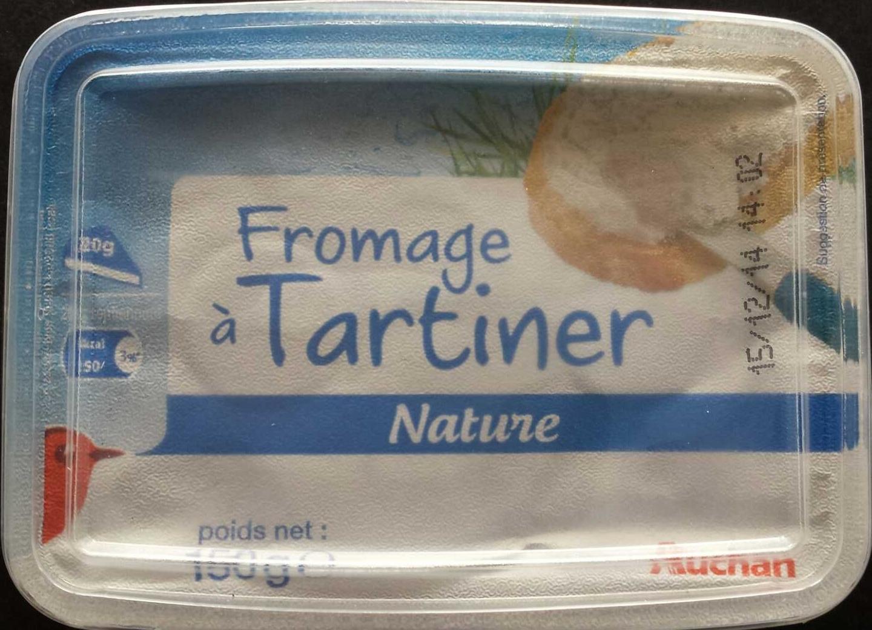 Fromage à Tartiner, Nature (24 % MG) - Produit - fr