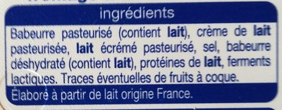 Fromage à Tartiner, Nature (24 % MG) - Ingrédients - fr