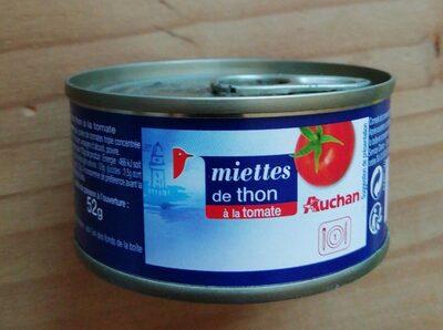 Miette De Thon A La Tomate 80g - Prodotto - fr
