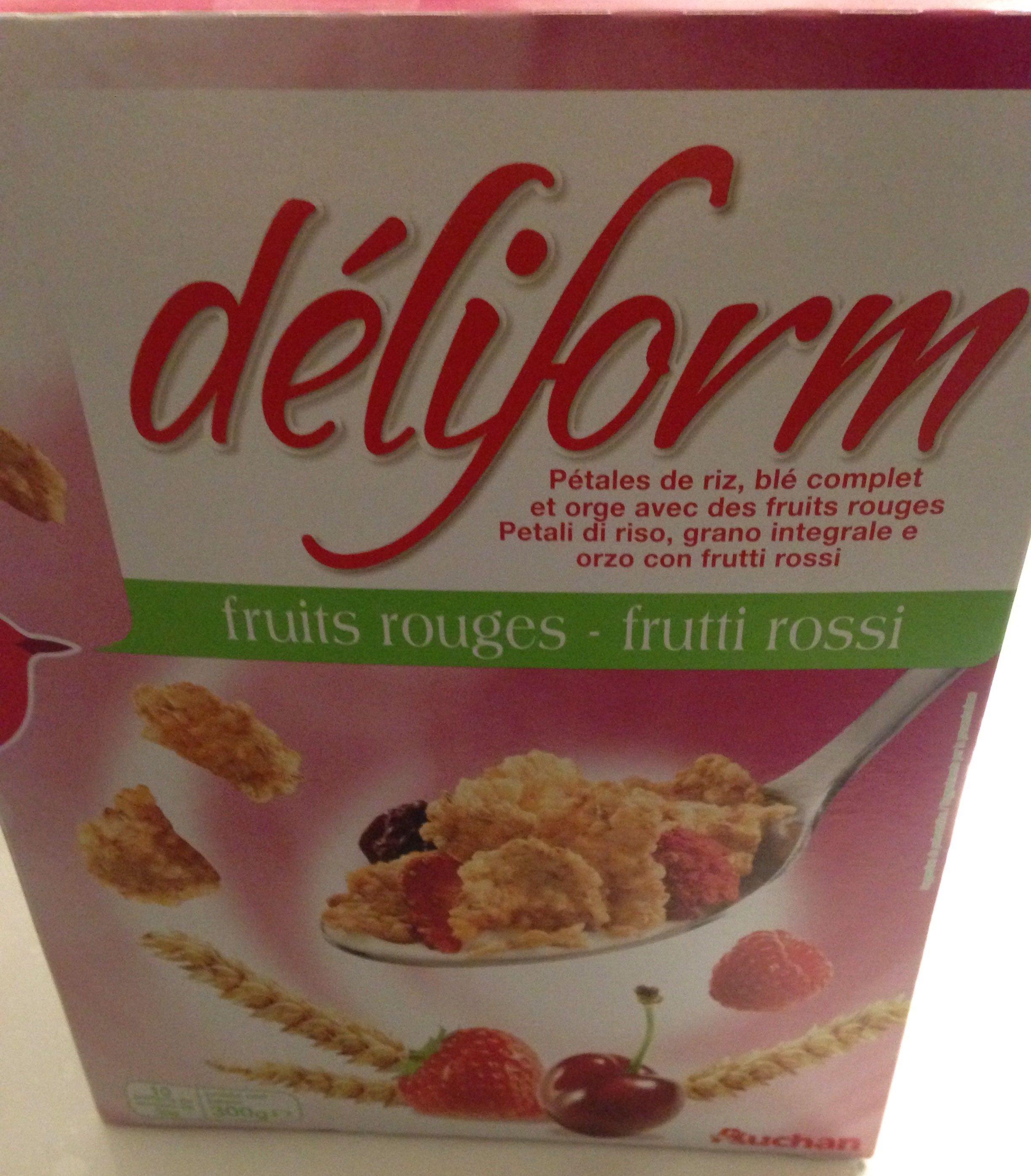 Deliform fruits rouge - Produit - fr