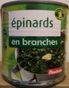 Epinards en branches - Produit
