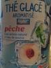Thé glacé aromatisé light pêche - Produit