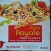 Pizza Royale, Cuite sur pierre (Jambon, champignons, fromages, olives) - Produit