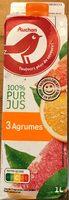 Fruits pressés 100% pur jus 3 agrumes - Produit