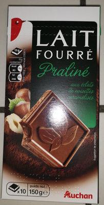 Chocolat lait fourre praliné aux éclats de nougatine caramélisées - Product