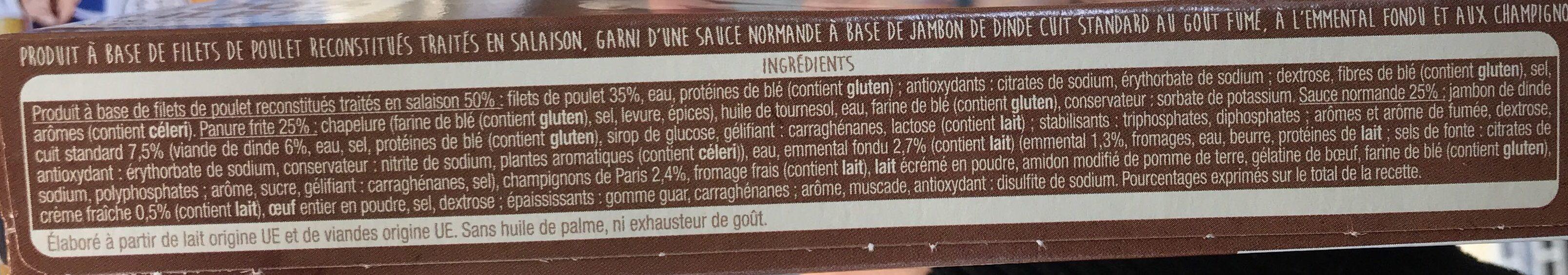 Croque a la normande x2 - Ingrediënten