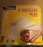 Tortillas de blé de trigo - Prodotto - fr