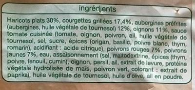 Les poêlées cuisinées - Catalane - Ingredients