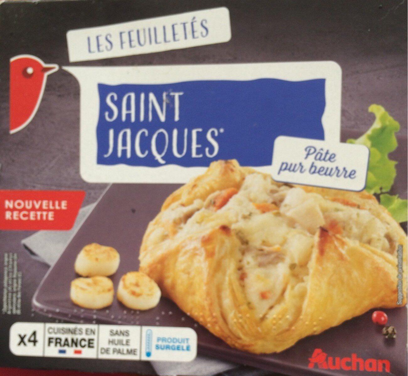 4 feuilletés Noix de Saint-Jacques - Produkt - fr
