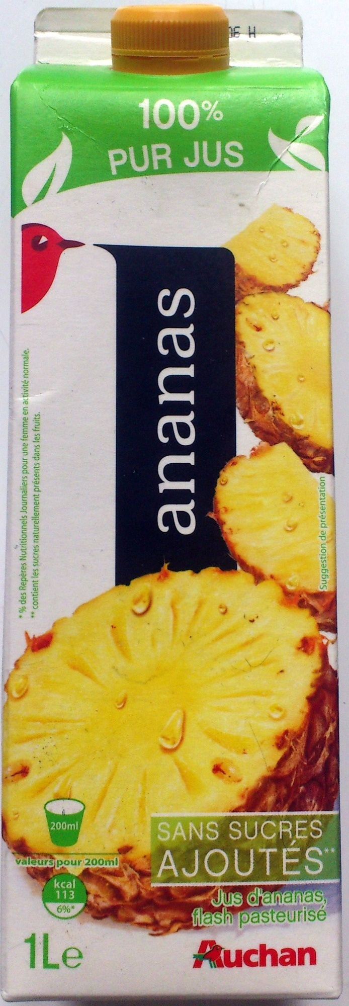 100 % Pur Jus Ananas - Product - fr