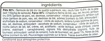 Tortellini Jambon cru - Ingrédients - fr