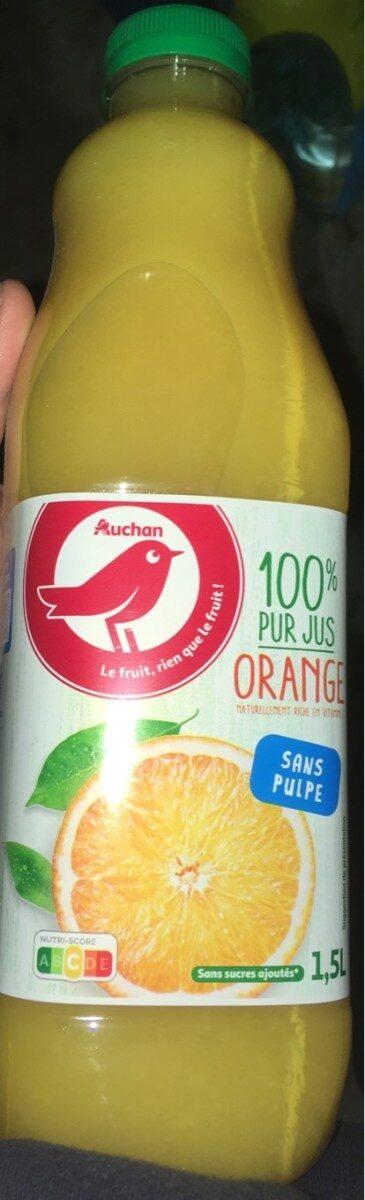 100% pur jus orange - Product - fr