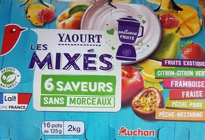 Les mixés - 6 saveur sans morceaux - Product