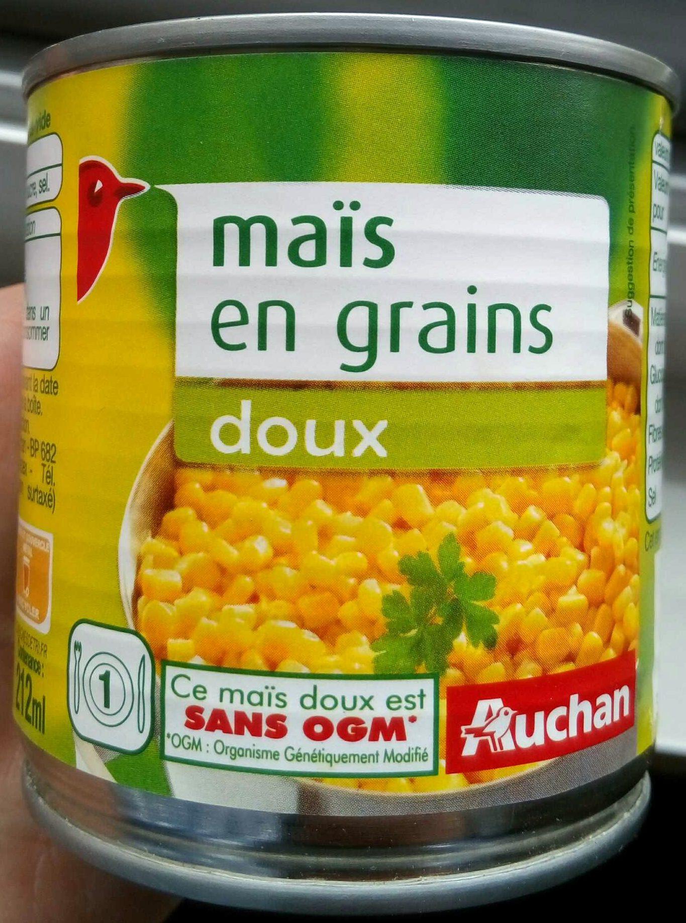 Maïs en grains doux - Produit - fr