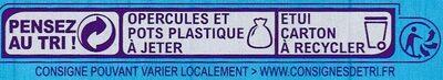 Yaourt à la grecque - Instruction de recyclage et/ou information d'emballage - fr