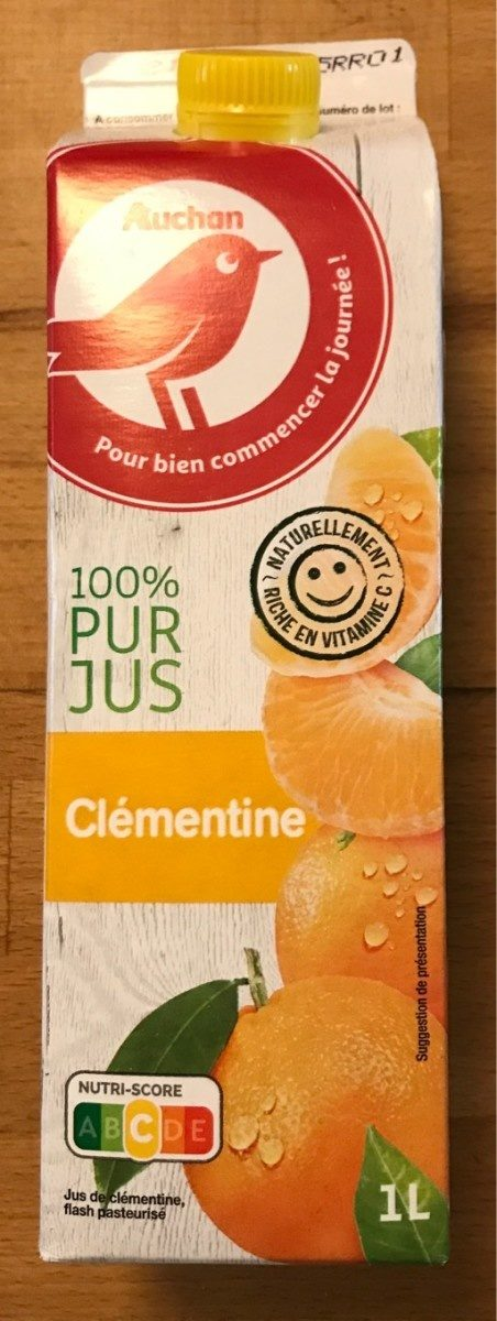 Jus de clémentine 100% jus - Product - fr