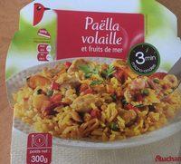 Paella Volaille et Fruits de mer - Produit - fr