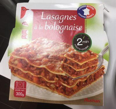Lasagnes à la bolognaise - 300 g - Produit