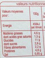 Lasagnes à la bolognaise - 300 g - Voedingswaarden - fr