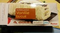 Feuilleté parfum vanille biscuit - Product