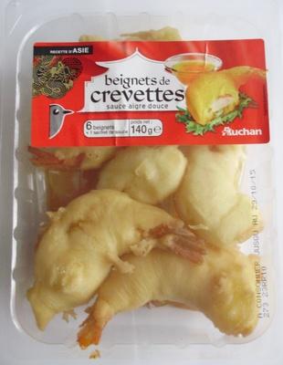 Beignets de crevettes sauce aigre douce (6 beignets + 1 sachet de sauce) - Produit