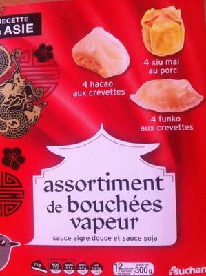 Assortiment de Bouchées Vapeur - Produit - fr