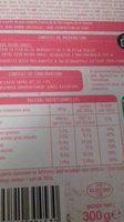 Parmentier de jambon - Informations nutritionnelles