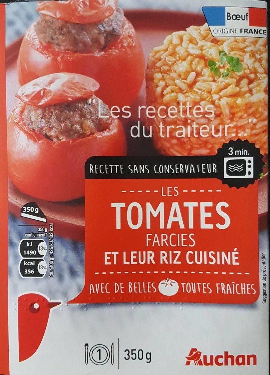 Tomates farcies et leur riz cuisiné - Produit - fr